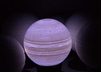 wydruk 3d lampy nocenj Jowisz Jupiter _4