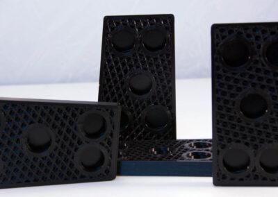 wypełnienie typu sześciościan w druku 3D