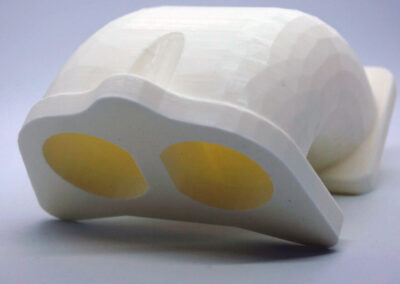 model formy piaskowej - kolektor ssacy