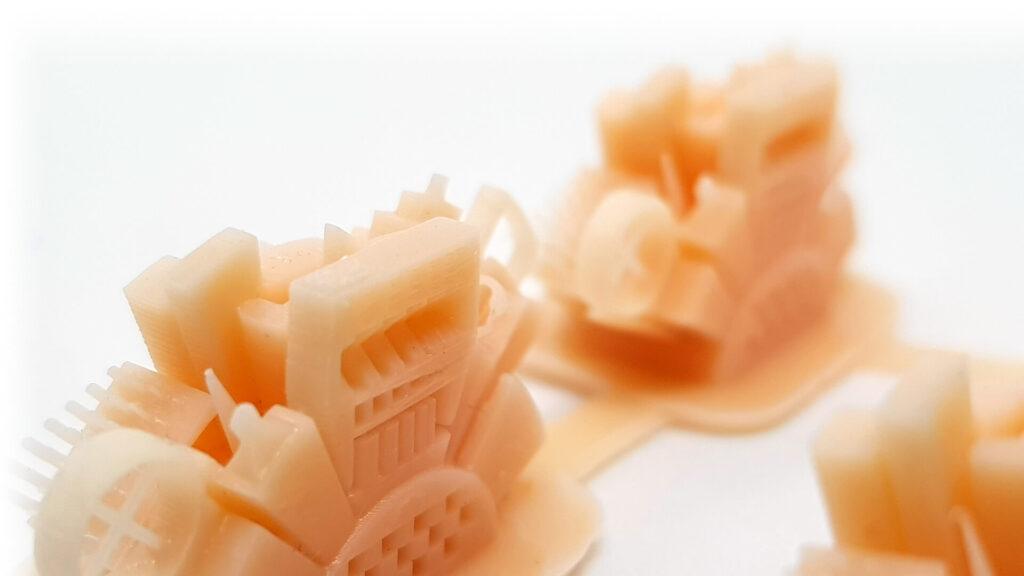 przedmioty wydrukowane na drukarce 3d