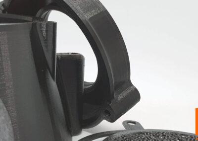 DRUK 3D NA ZAMÓWIENIE– ZASTOSOWANIE W FOTOGRAFII - nasadka projekcyjna Oprical Snoot