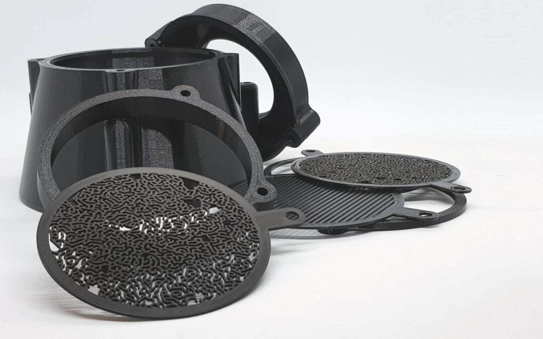 DRUK 3D NA ZAMÓWIENIE– ZASTOSOWANIE W FOTOGRAFII  – nasadka projekcyjna Oprical Snoot