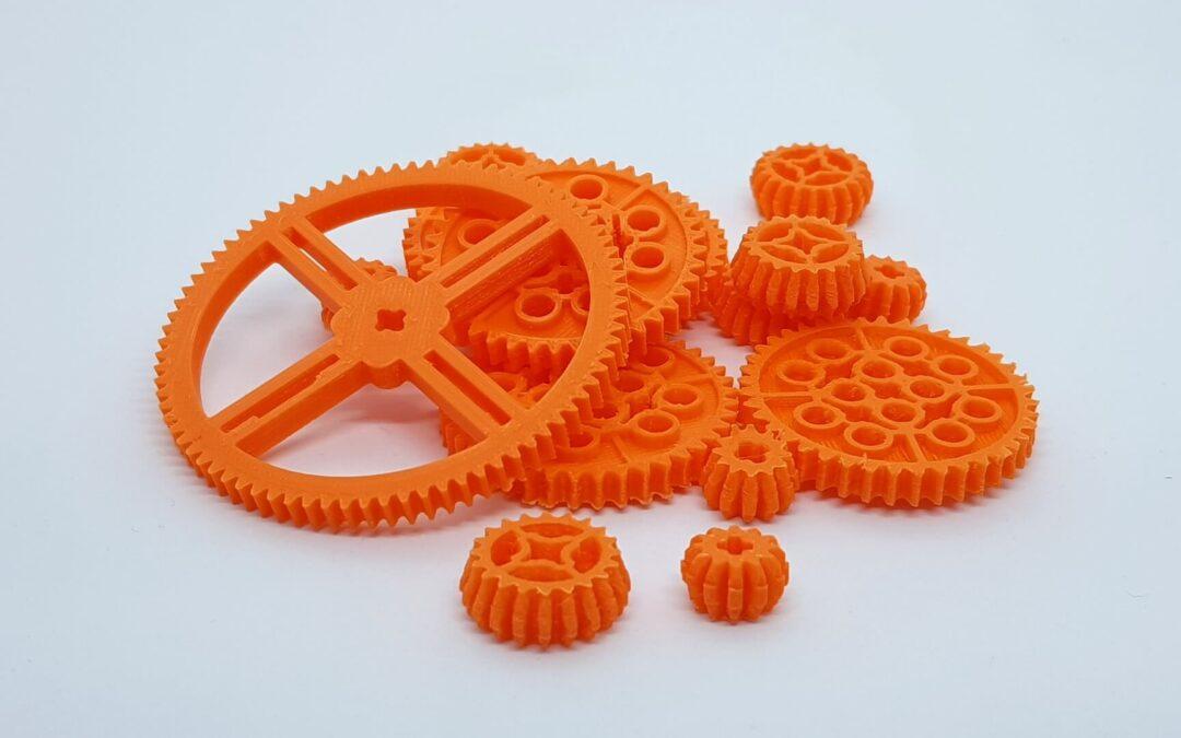 części do Lego Technic – druk 3d